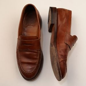 J CREW Ludlow Brown Penny Loafers 7.5 D Shoes